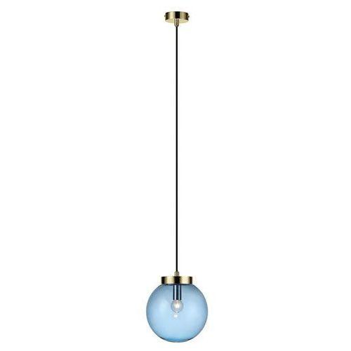 Lampa wisząca BALL Pendant 1L Brass/Blue 106837 - Markslojd – Rabat w koszyku, 106837