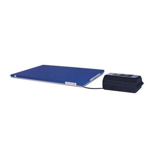 Płaski stół podnośny, dł. x szer. 1350x800 mm, zakres podnoszenia do 900 mm, pla