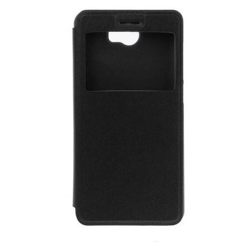 Flip Leather Czarny | Etui z klapką dla Huawei Y5 II - Czarny