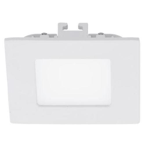 Eglo Plafon fueva 1 94046 lampa sufitowa oprawa downlight oczko 1x2,7w led biały kwadr.