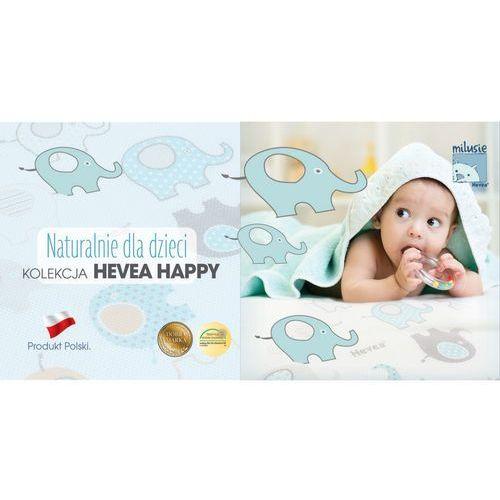 Hevea Materac piankowy z lateksem happy baby max 130x70