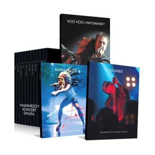 Agora Muniek najmniejszy koncert świata dvd (płyta cd)