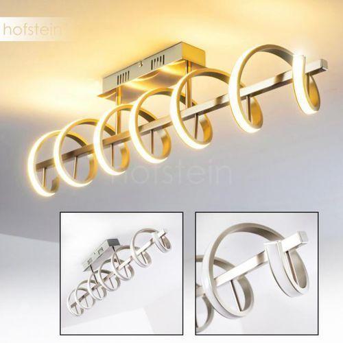 ARAGNO lampa sufitowa LED Nikiel matowy, 1-punktowy - Nowoczesny - Obszar wewnętrzny - Deckenleuchte - Czas dostawy: od 3-6 dni roboczych