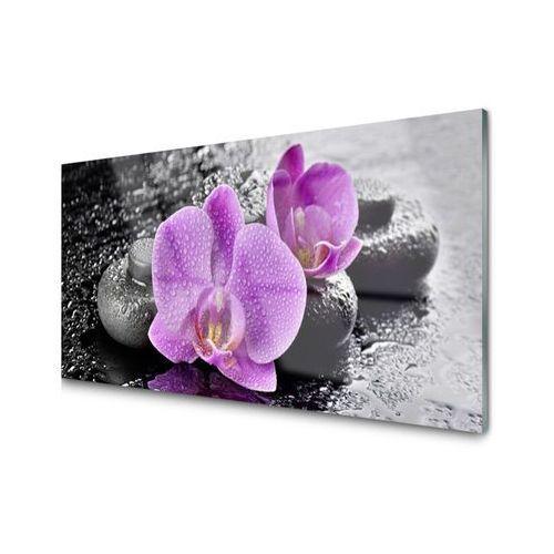Tulup.pl Obraz akrylowy storczyk kwiaty orchidea spa