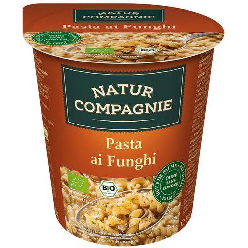 Natur compagnie (buliony, kostki rosołowe) Danie w kubku makaron z grzybami bio 50 g natur compagnie