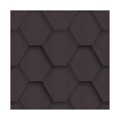 Izolmat Gont bitumiczny hexagonalny grafitowy 3 m2 (5903874203575)