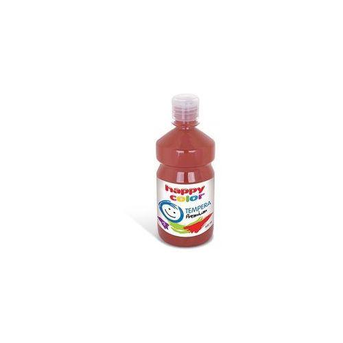 Happy color Farba 500 ml ciemnobrązowa -
