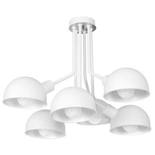 Luminex Devin 1346 plafon lampa sufitowa 6x60W E27 biały, 1346