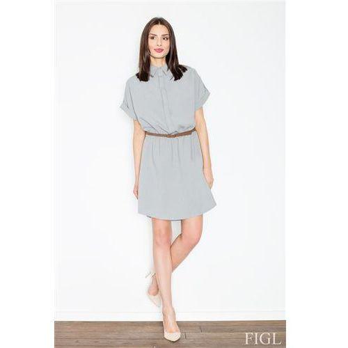 Sukienka model m442 grey, Figl