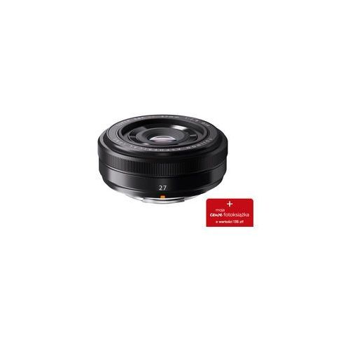 Fujifilm Obiektyw xf 27 mm f/2.8 czarny