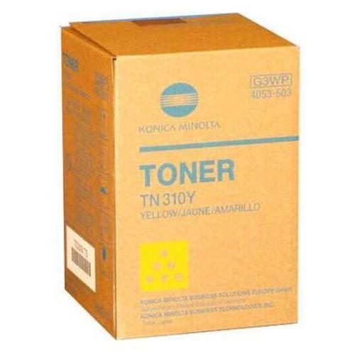 Konica Minolta oryginalny toner TN310Y, yellow, 11500s, 4053-503, Konica Minolta Bizhub C350/C351/C450 (4250491392382)