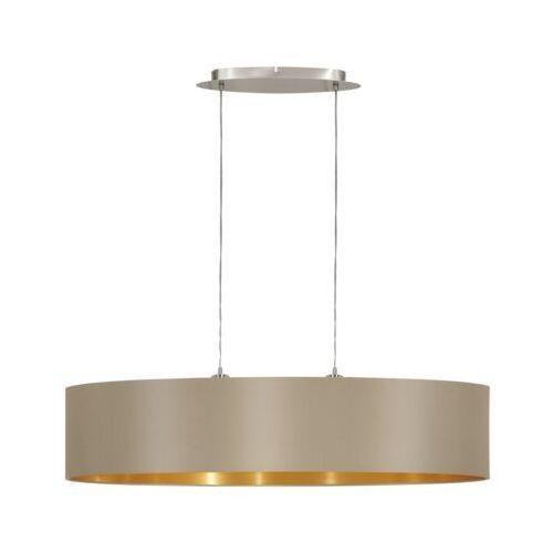 Eglo 31618 - lampa wisząca maserlo 2xe27/60w/230v (9002759316181)