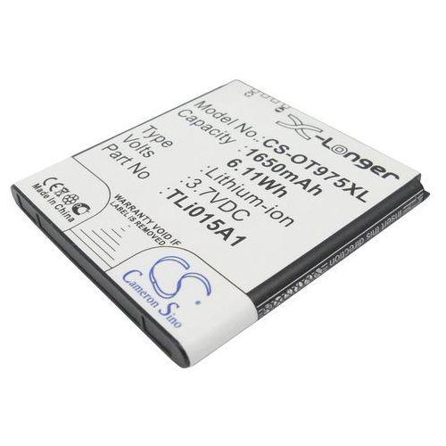 Alcatel One Touch 975 / TLi015A1 1650mAh 6.11Wh Li-Ion 3.7V (Cameron Sino), kup u jednego z partnerów