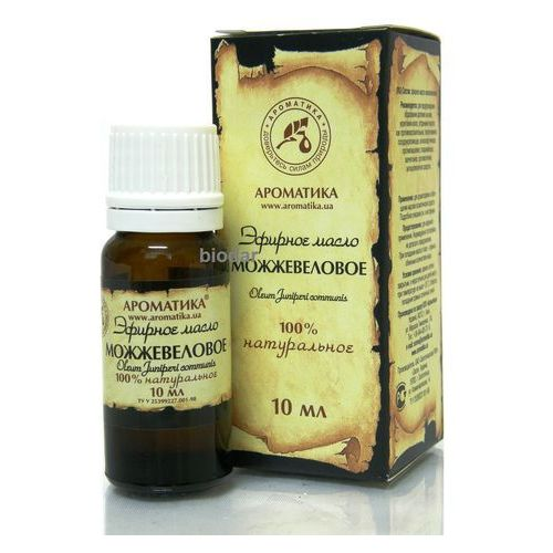 Aromatika Olejek jałowcowy (jałowiec), 100 % naturalny, 10 ml