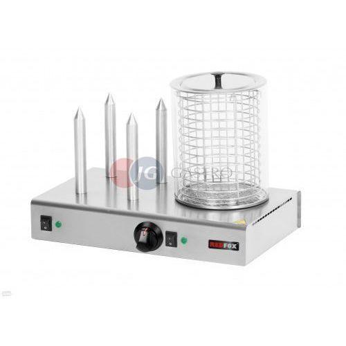 Urządzenie do hot-dogów 4 szpikulce Red Fox HD - 4N