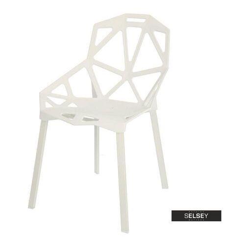 D2 Selsey krzesło nubera białe (5903025367194)