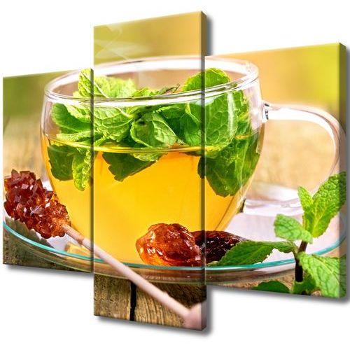 Obraz do salonu herbatka miętowa cukier trzcinowy marki Cenodi
