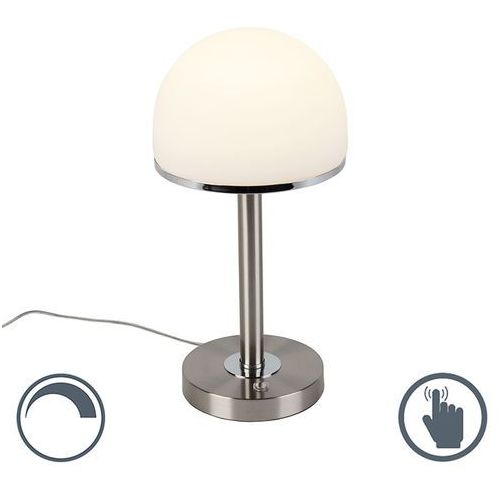 Trio leuchten Vintage lampa stołowa stal zawiera led dotykowa - bauhaus