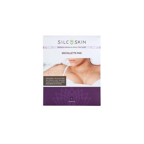 SilcSkin Decollette Pad plastry silikonowe przeciw zmarszczkom na dekolcie + do każdego zamówienia upominek.
