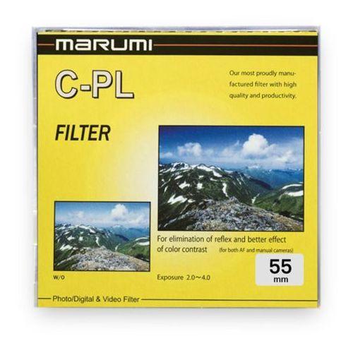 yellow filtr fotograficzny circular pl 55mm marki Marumi