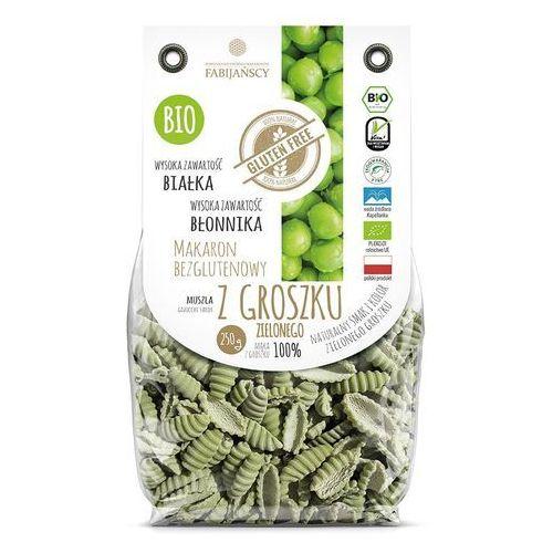 Makaron z groszku zielonego muszla gnocchi sardi bezglutenowy bio 250 g fabijańscy marki Fabijańscy (makarony)