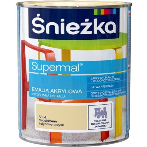 Śnieżka supermal® emalia akrylowa satynowy połysk marki Ffil śnieżka s.a.