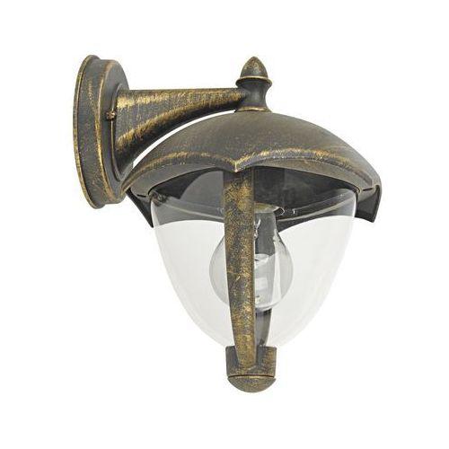 Rabalux Kinkiet zewnętrzny lampa ścienna miami 1x40w e27 ip44 antyczne złoto 8670 (5998250386706)