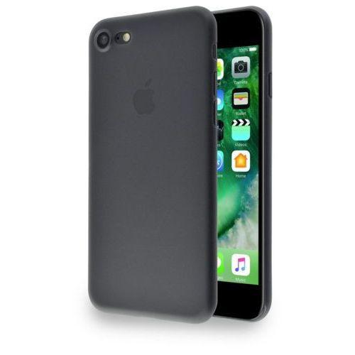 Etui AZURI Ultrathin iPhone 7 czarne, AZCOVUTAPPIPH7-BLK