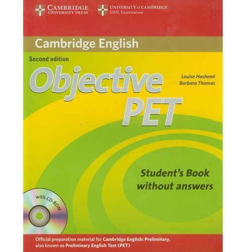 Objective Pet Student's Book Without Answers With Cd-Rom, oprawa miękka