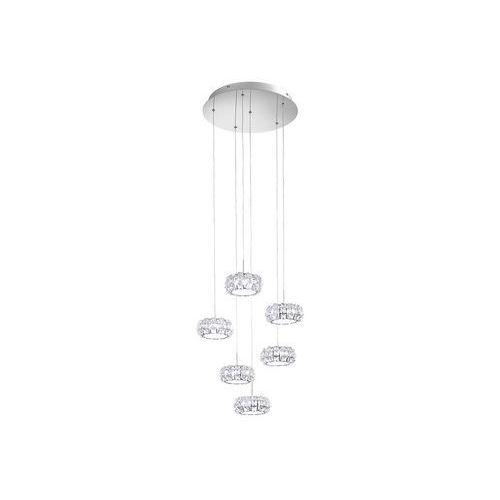 39008 - led lampa wisząca corliano 6xled/5w/230v marki Eglo