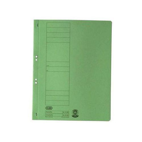 skoroszyt oczkowy, a4, zielony marki Elba