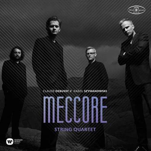 Meccore string quartet: szymanowski & debussy - meccore string quartet (płyta cd) marki Warner music