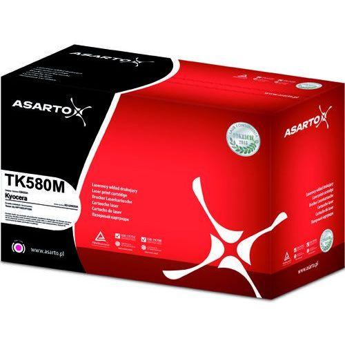 Toner Asarto TK580M do Kyocera Ecosys P6021cdn FS-C5150 magenta 2,8k, AS-LK580MN
