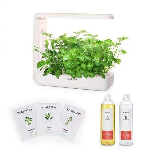 growit cuisine zestaw startowy ii 10 roślin oświetlenie led nasiona roślin europejskich pożywka płynna marki Klarstein