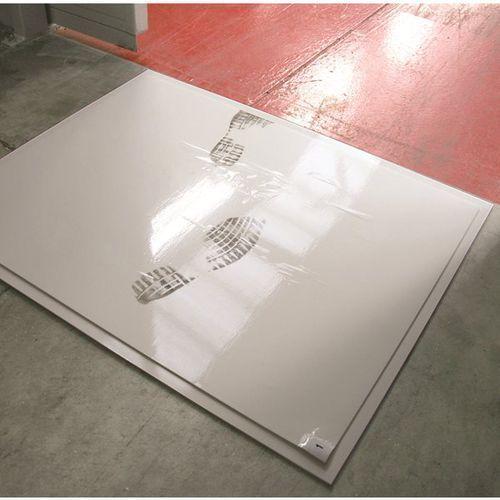 Mata do sterylnych pomieszczeń, z poliolefinu, dł. x szer. 1300x800 mm, od 3 szt marki Coba plastics
