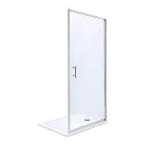 town drzwi do wnęki prysznicowej 1częściowe 100 100x195,5cm szkło przezroczyste amp171001m marki Roca