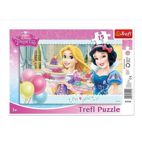 Puzzle 15 ramkowe przyjaciele księżniczki marki Trefl