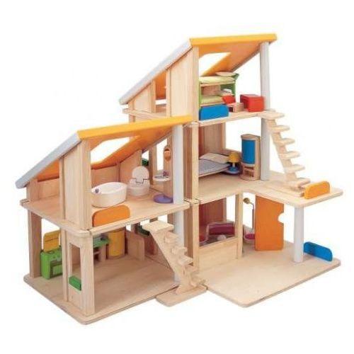 Drewniany Domek dla Lalek z Mebelkami - Duży! PLAN TOYS