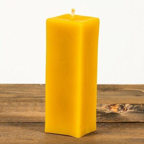 Świeca woskowa prostokąt (80 mm / 50 mm) Łysoń