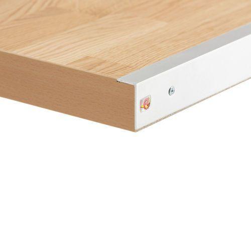 Stół warsztatowy z blatem o powierzchni dębowej 800x750x2500mm
