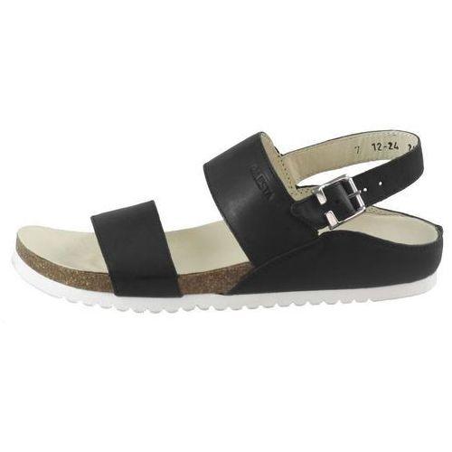 Sandały letnie Lesta 1224, kolor czarny