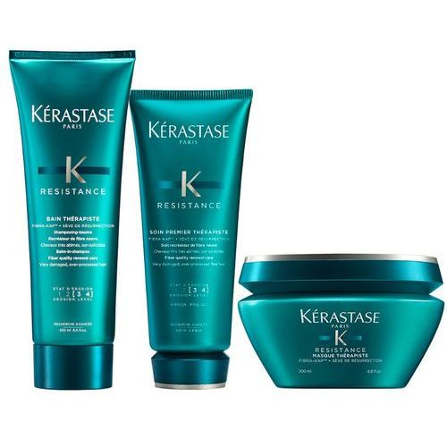 Kérastase Kerastase therapiste bain 250ml + therapiste soin 200ml + therapiste masque 200ml