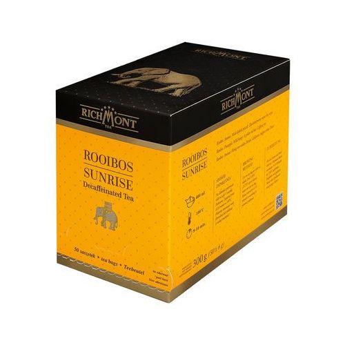Richmont Herbata o smaku miodowo-ananasowym, 50 saszetek   , rooibos sunrise - OKAZJE