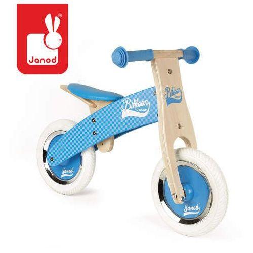 - rowerek biegowy niebieski little bikloon 2+ marki Janod