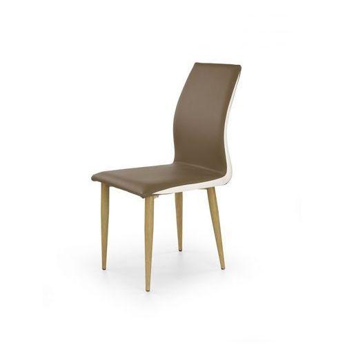 K264 krzesło cappucino / biały