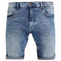 Shine Original REGULAR FIT VINTAGE Szorty jeansowe vintage blue, bawełna