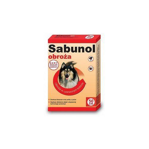 DermaPharm Sabunol GPI Obroża przeciw pchłom dla psa czerwona 50cm, 14402 (6648070)