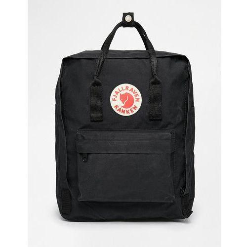 64364cfaf2839 kanken classic black backpack - black marki Fjallraven , Fjallraven ...