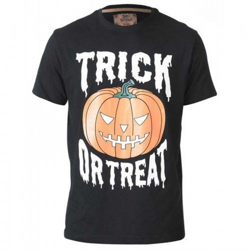 Scary-d555 halloween pumpkin duży t-shirt męski marki Duke