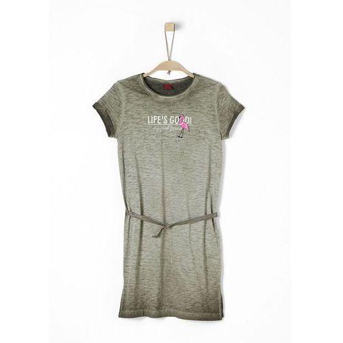 sukienka dziewczęca 152 khaki marki S.oliver